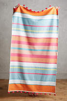 Anthropologie Tasseled Stripes Beach Towel
