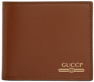 Gucci Tan Logo Wallet