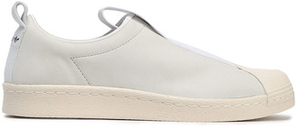 adidas Superstar Bw3s Leather Slip-on Sneakers