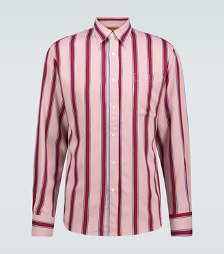 Missoni Striped long-sleeved shirt
