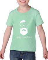 Artix Cool Santa Merry Christmas Toddler Kids T-Shirt Tee Clothing