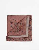 Paul Smith Floral Pocket Square - Pink