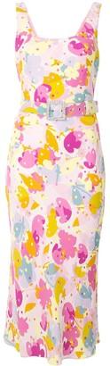 Rebecca Vallance Floral Print Midi Dress