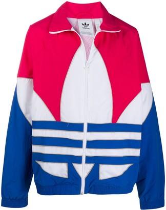 adidas Logo Print Sports Jacket