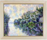 Overstock Art The Seine Near Giverny Oil Reproduction By Claude Monet