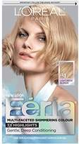 L'Oreal Feria Permanent Hair Color, 91Champagne Cocktail (Light Beige Blonde)