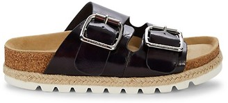 J/Slides Leighton Leather Slides