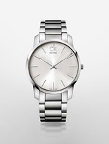 Calvin Klein City Silver Watch