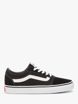 Vans Ward Lace Up Trainers, Black