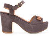 Chie Mihara Fasha sandals - women - Calf Leather/Calf Suede/rubber - 38