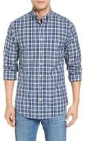 Vineyard Vines Men's Trumpet - Tucker Slim Fit Plaid Sport Shirt