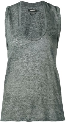 Isabel Marant U-neck tank top