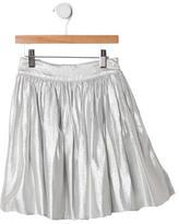 Baby CZ Girls' Metallic Gathered Skirt w/ Tags