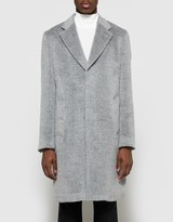 Our Legacy Unconstructed Classic Coat Grey Cilium Wool