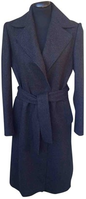 Dolce & Gabbana Anthracite Wool Coat for Women Vintage