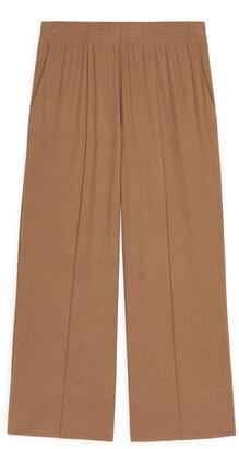 Arket Wide Jersey Trousers
