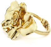 Oscar de la Renta Gold Rosette Bracelet