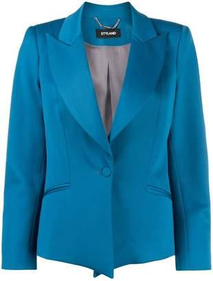 Styland peaked lapel blazer