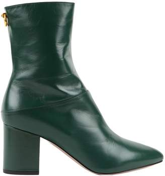 Valentino \N Green Leather Boots