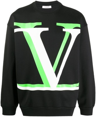 Valentino VLOGO Shadow crew-neck sweatshirt