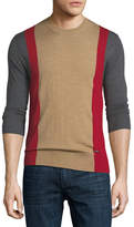 DSQUARED2 Colorblock Wool Sweater