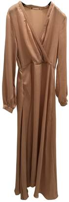 BEIGE Non Signé / Unsigned Non Signe / Unsigned Polyester Dresses