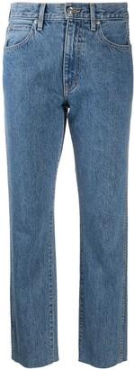 SLVRLAKE Hero high rise slim-fit jeans