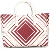 Anya Hindmarch 'Chalk Vampire' tote - women - Calf Leather/Leather - One Size