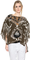 Etoile Isabel Marant Sleeveless Wool Blend Sweater