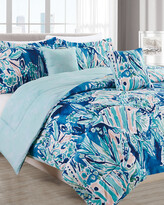 Thumbnail for your product : Melange Home Barbarian Here Fishie 5Pc Comforter Set