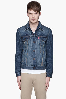 Levi's Faded indigo Trucker Jacket