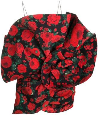 Magda Butrym Belgrade floral-print mini dress