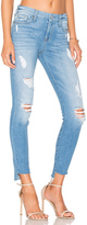 7 For All Mankind Step Hem Ankle Skinny