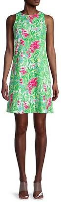 Pappagallo Floral Trapeze Dress