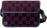 Gucci monogram print belt bag