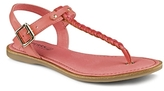 Sperry Flat T-Strap Sandals - Virginia