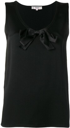 Yves Saint Laurent Pre-Owned 1990's Bow Detail Top