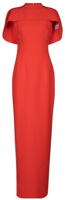 Safiyaa Kalika stretch-crepe gown