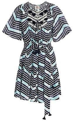 Figue Bria Chevron Striped Dress