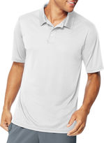 Hanes Quick Dry Short Sleeve Solid Polo Shirt