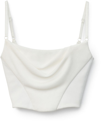 Collection Draped Corset Top