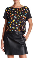 Love Moschino Short Sleeve Printed Shirt