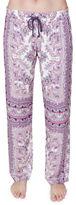 PJ Salvage Printed Elastic Drawstring Waist Pants