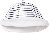 Mayoral Navy and White Stripe Reversible Hat