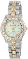 Swarovski Armitron Women's 75/5053MPTT Crystal Accented Two-Tone Bracelet Watch