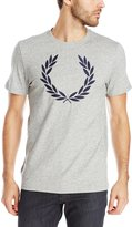 Fred Perry Men's Textured Laurel Wreath Shirt