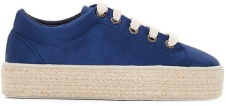 La Redoute Collections Platform Trainers with Rope Sole