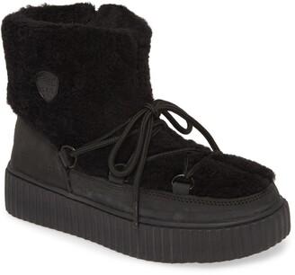 Pajar Ceria Genuine Shearling Waterproof Sneaker Boot