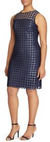 Lauren Ralph Lauren Plus Size Women's Metallic Geo Lace Sheath Dress