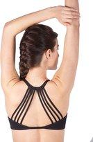 Queenie Ke Women's Light Air Back Support Yoga Energy Sports Bra Size L Color